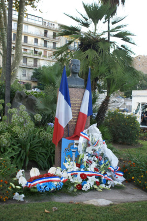 Ajaccio : Cérémonie en hommage à Pierre Griffi