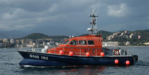 Ajaccio : La SNSM récupère les 9 passagers d'une vedette victime d'une voie d'eau