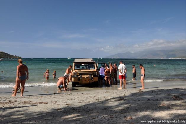 Saint-Florent : Les touristes italiens débarquent en… voiture à La Roya