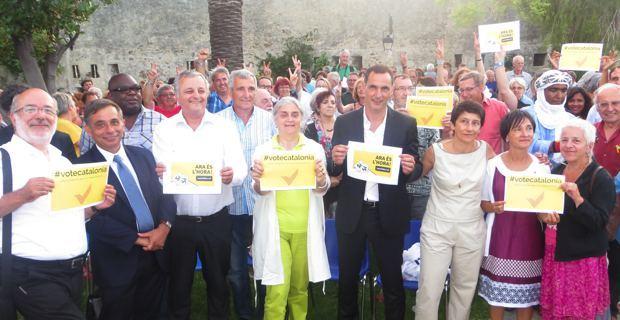 Message de soutien envoyé aux Catalans.