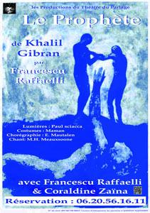 """Bastia : Le Prophète"""" de Khalil Gibran dans les jardins suspendus du musée"""