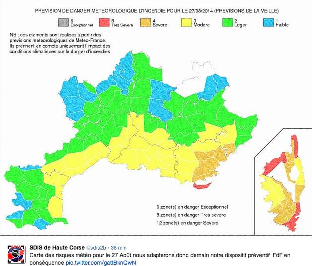 Nouveau coup de vent attendu sur la Haute-Corse