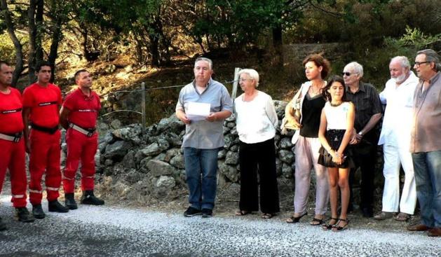 20 ème anniversaire de la mort de Serge Martinelli : Nessa a honoré sa mémoire