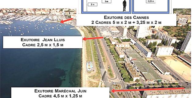 Travaux des exutoires des Cannes-Salines : Un chantier sans précédent à Ajaccio