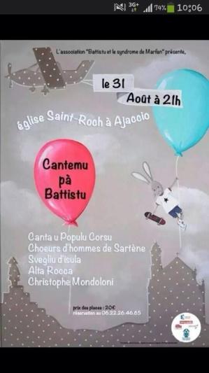 Ajaccio : Cantemu pà Battistu