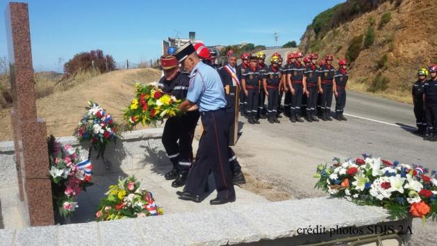 Col San Bastianu : L'hommage à Jean-Louis Arbori et Philippe Bressy