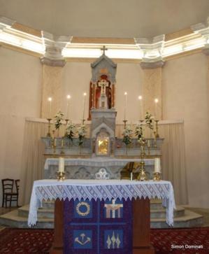 Lévie : Les trésors d'une église