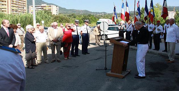 Ajaccio : Hommage à la Résistance et à Michel Bozzi