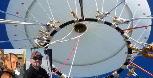Le ballon blanc Pearl et son équipage : La fin de l'aventure à Ghisonaccia (Coupe Gordon Bennet)
