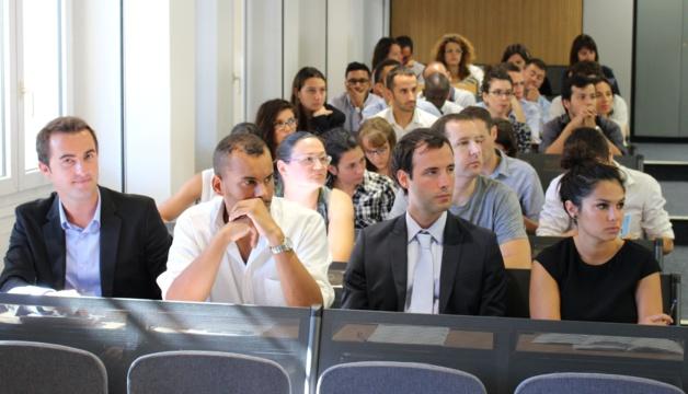 125 stagiaires-fonctionnaires à la rentrée de la 34ème promotion de l'IRA de Bastia