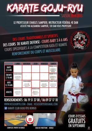 karate goju-ryu: Reprise à Borgo