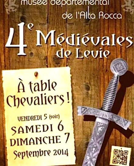 Au cœur des Médiévales de Levie : Comme si vous y étiez…