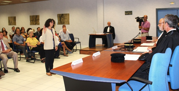 Bastia double prestation de serment et installation la - Chambre regionale des comptes recrutement ...