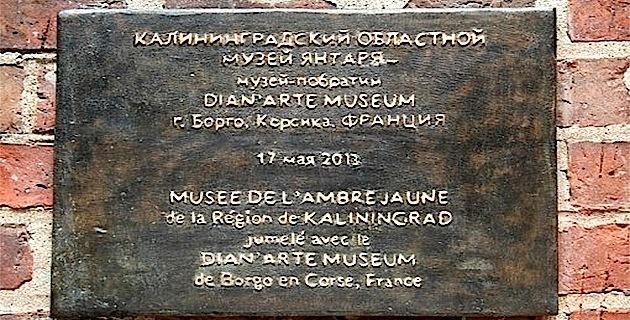 """Borgo : """"La Côte d'Ambre de la Russie"""" au Dian'Arte Museum"""