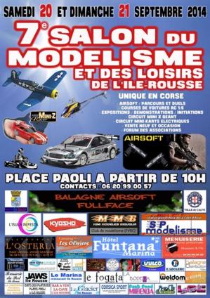 Le 7ème salon du modélisme et des loisirs les 20 et 21 Septembre à L'Ile-Rousse