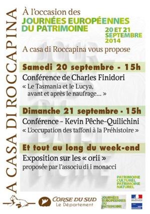 Les Journées européennes du Patrimoine à la Casa di Roccapina