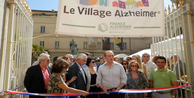 Journée Mondiale France-Alzheimer : Un village à Ajaccio !
