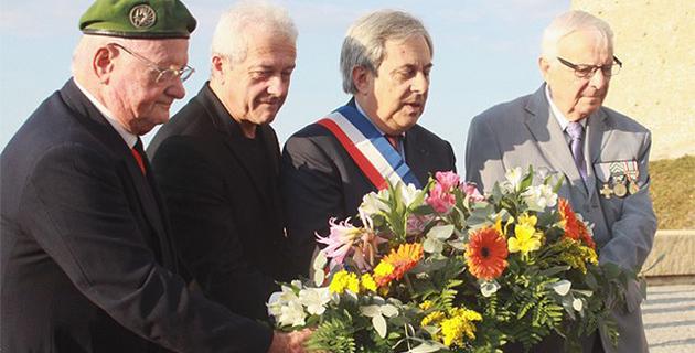 71e anniversaire libération de la Corse et nouveau drapeau pour la 1er Bataillon de Choc de Calvi