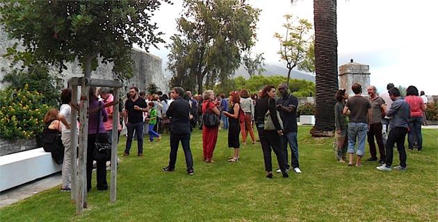 """Bastia : """"Jardins Sonics"""" s'installe dans les jardins suspendus du Musée"""