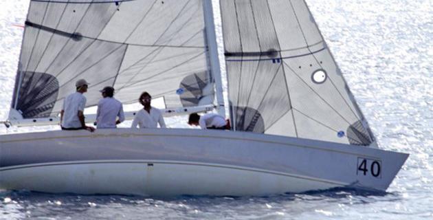 """La """"Corsica Smeralda Cup"""" disputée à Calvi revient à Peter Grut à la barre de """"Griphon"""""""