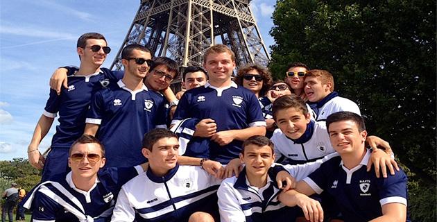 Les Jeunes Handballeurs Bastiais à l'assaut de la Capitale.