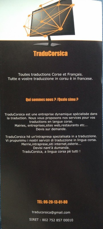 "TraduCorsica : ""A lingua corsa pè tutti"""