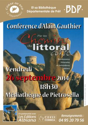 """""""Par les chemins du littoral corse"""" conférence ce vendredi à Pietrosella"""