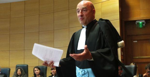 Nicolas Bessone, nouveau procureur de la République près du Parquet de Bastia.