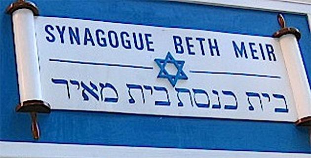 """Bastia : Le """"taggeur"""" ne savait que c'était une synagogue !"""