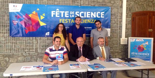La Science en fête jusqu'au 19 Octobre avec le Cpie-Centru di Corsica-A Rinascita