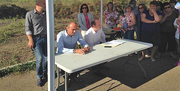 La tournée des quartiers du député-maire d'Ajaccio : Améliorer le cadre de vie de la Confina II