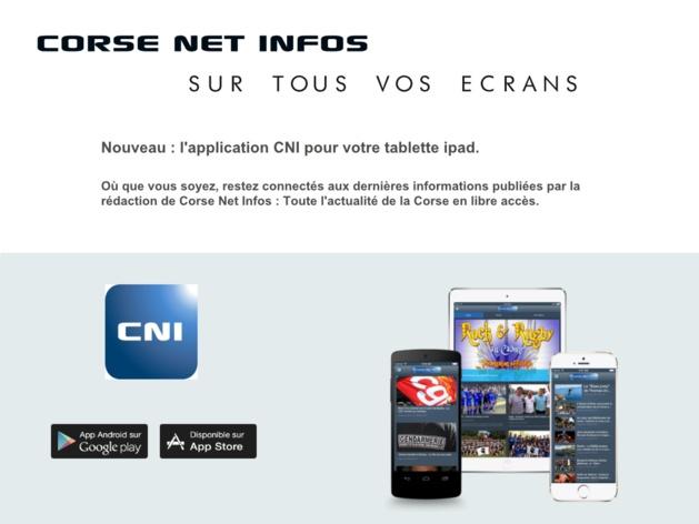 Nouveau : L'application CNI pour ipad et ipad mini est disponible