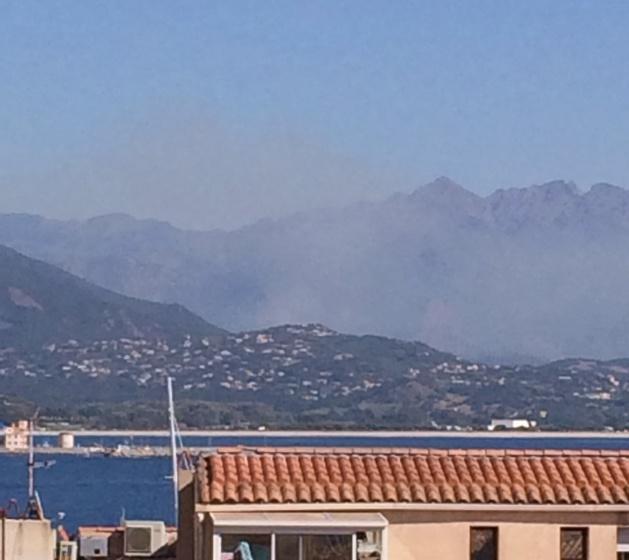 Gros incendie sur Bastelicaccia