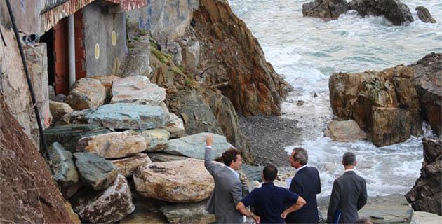 Le Caribou : La mer a repris ses droits à Cagnano