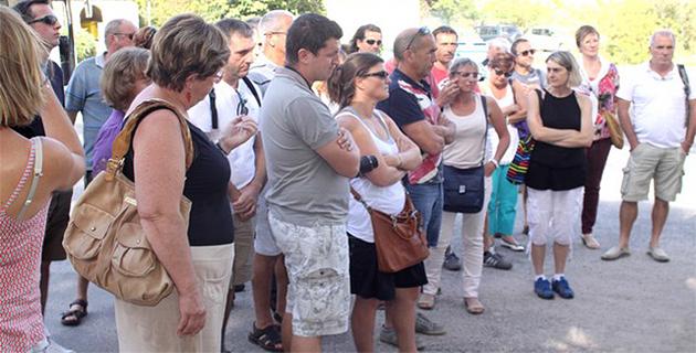 """Etape calvaise pour les adhérents de la charte """"Camping qualité"""""""