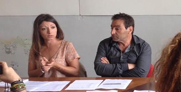 Anne Labertrandie et Nicolas Alaris