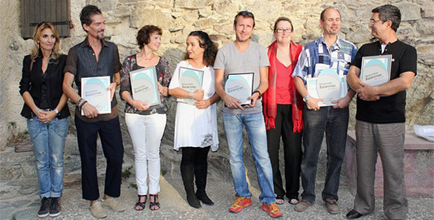 """Le label """"Qualité d'accueil en Pays de Balagne"""" pour huit artisans"""