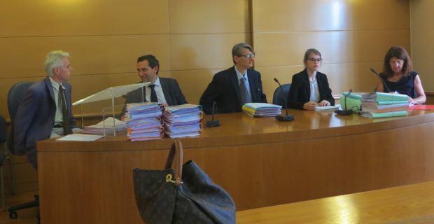 Audience électorale au Tribunal administratif de Bastia.