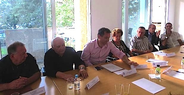 Jacques Vesperini (Conca d'Oro), Jean-Pierre Leccia (Nebbiu), François Tatti (CAB), Anne-Marie Natali (Marana-Golo), Pierre-Michel Simonpietri (CAB), Michel Rossi (CAB) et Gilles Simeoni (Bastia).