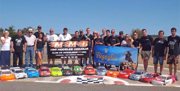Biguglia : Championnat de Corse de voitures radios commandées
