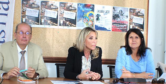Philippe Peretti, LInda Piperi et Mattea Lacave