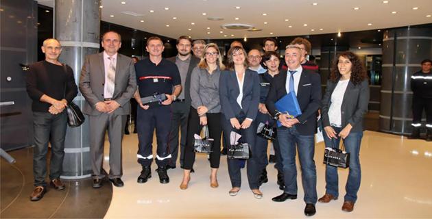 Bastia : Remise de diplômes de sensibilisation à la gestion de crise