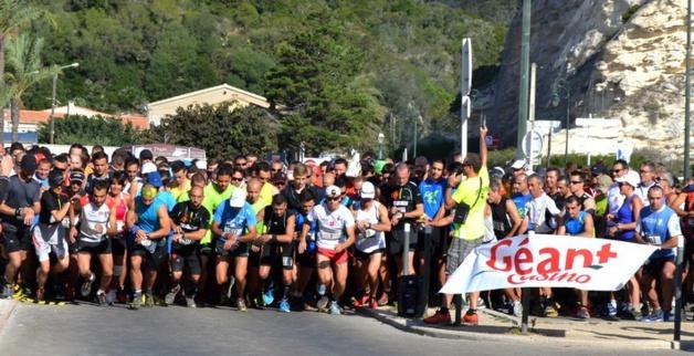 Bonifacio : Julien Gueydon vainqueur du trail des falaises