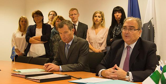 Une convention pour le transfert de la gestion du FEDER de l'Etat à la CTC
