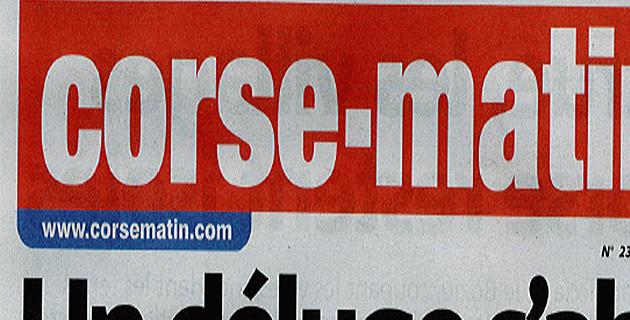 Les FIP Corse s'intéressent à Corse-Matin