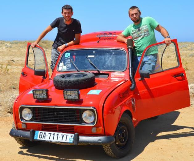 Joël Cesari (à gauche) et Guilllaume Bastianelli