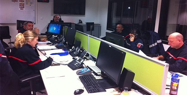Le Sdis de Haute-Corse était mobilisé lundi soir