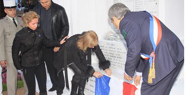 Calvi : Une plaque à la mémoire des sergents-chefs Pascal Thithardt et Marcel Kalafut
