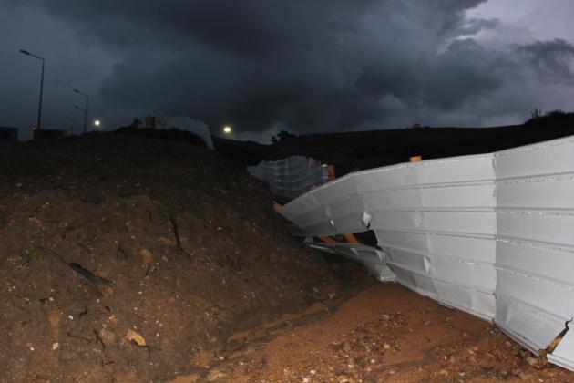 Ajaccio: 5 véhicules emportés par une coulée de boue