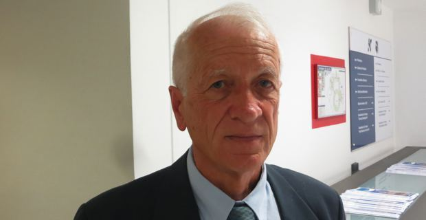 Joseph Puccini, président de la Société des sciences historiques et naturelles de la Corse.